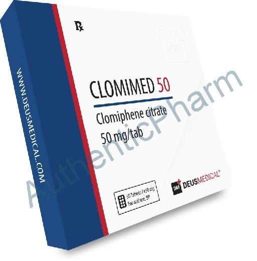 Buy Steroids Online - Buy CLOMIMED 50 (Clomiphene citrate) - DEUS MEDICAL