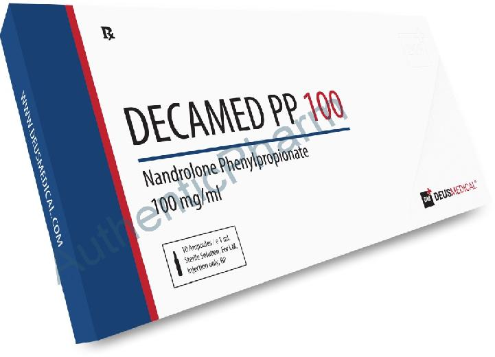 Buy Steroids Online - Buy DECAMED PP 100 (Nandrolone Phenylpropionate) - DEUS MEDICAL