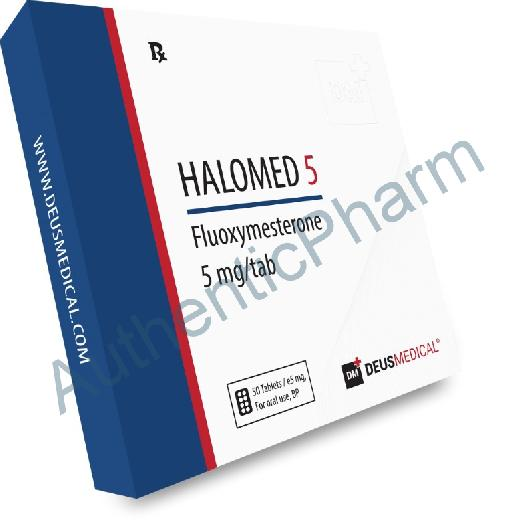 Buy Steroids Online - Buy HALOMED 5 (Fluoxymesterone) - DEUS MEDICAL