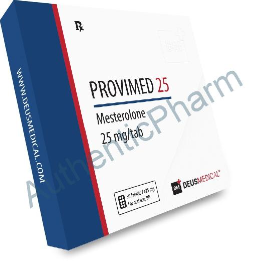 Buy Steroids Online - Buy PROVIMED 25 (Mesterolone) - DEUS MEDICAL