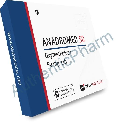 Buy Steroids Online - Buy ANADROMED 50 (Oxymetholone) - DEUS MEDICAL