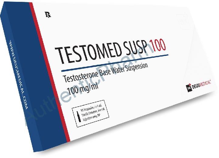 Buy Steroids Online - Buy TESTOMED SUSPENSION 100 (Testosterone Base Water Suspension) - DEUS MEDICAL