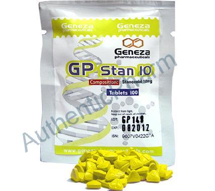 Buy Steroids Online - Buy GP Stan 10 (Winstrol tabs) - Geneza Pharmaceuticals