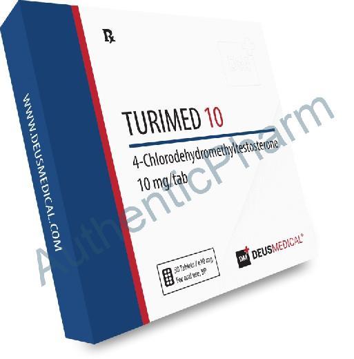Buy Steroids Online - Buy TURIMED 10 (Turinabol) - DEUS MEDICAL