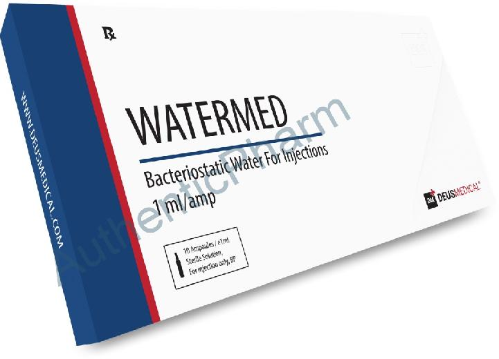 Buy Steroids Online - Buy WATERMED (Bacteriostatic water) - DEUS MEDICAL