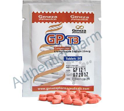Buy Steroids Online - Buy GP T3 (Trijodthyronin, Cytomel) - Geneza Pharmaceuticals
