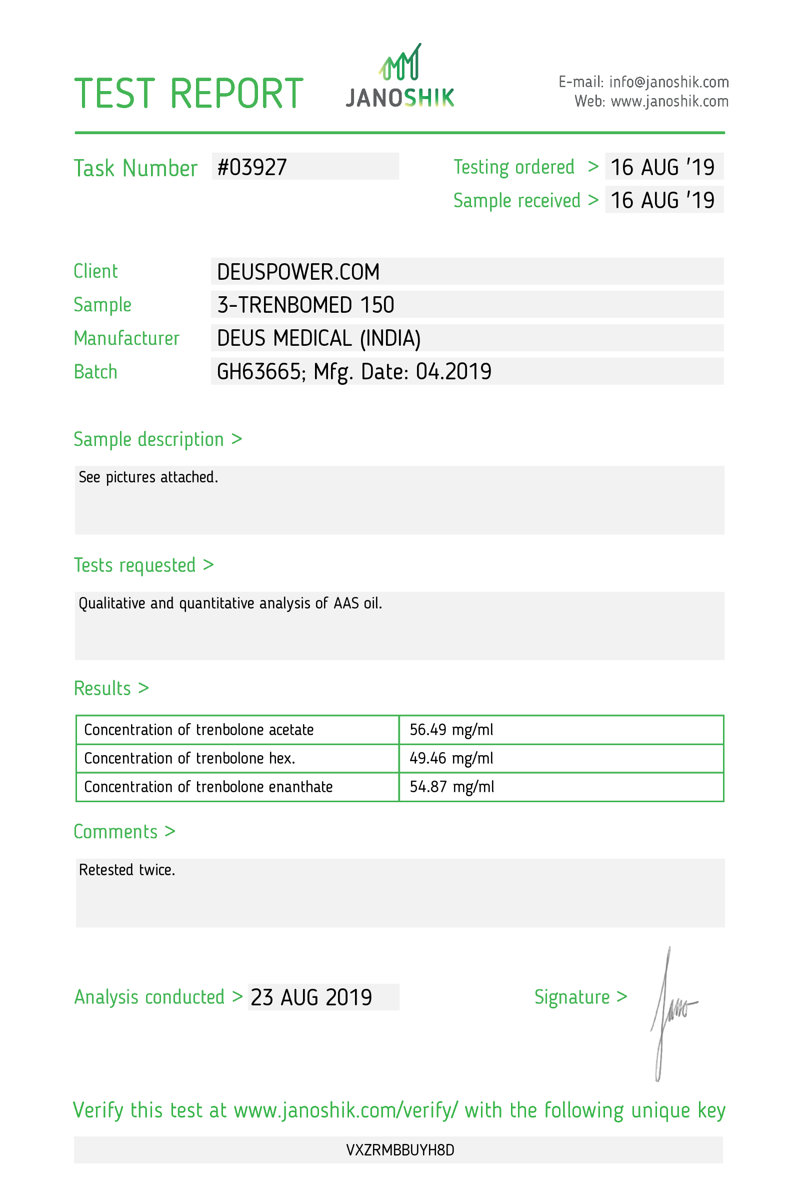 Laboratory Test for Deus Medical 3-TRENBOMED 150_Test Report.png