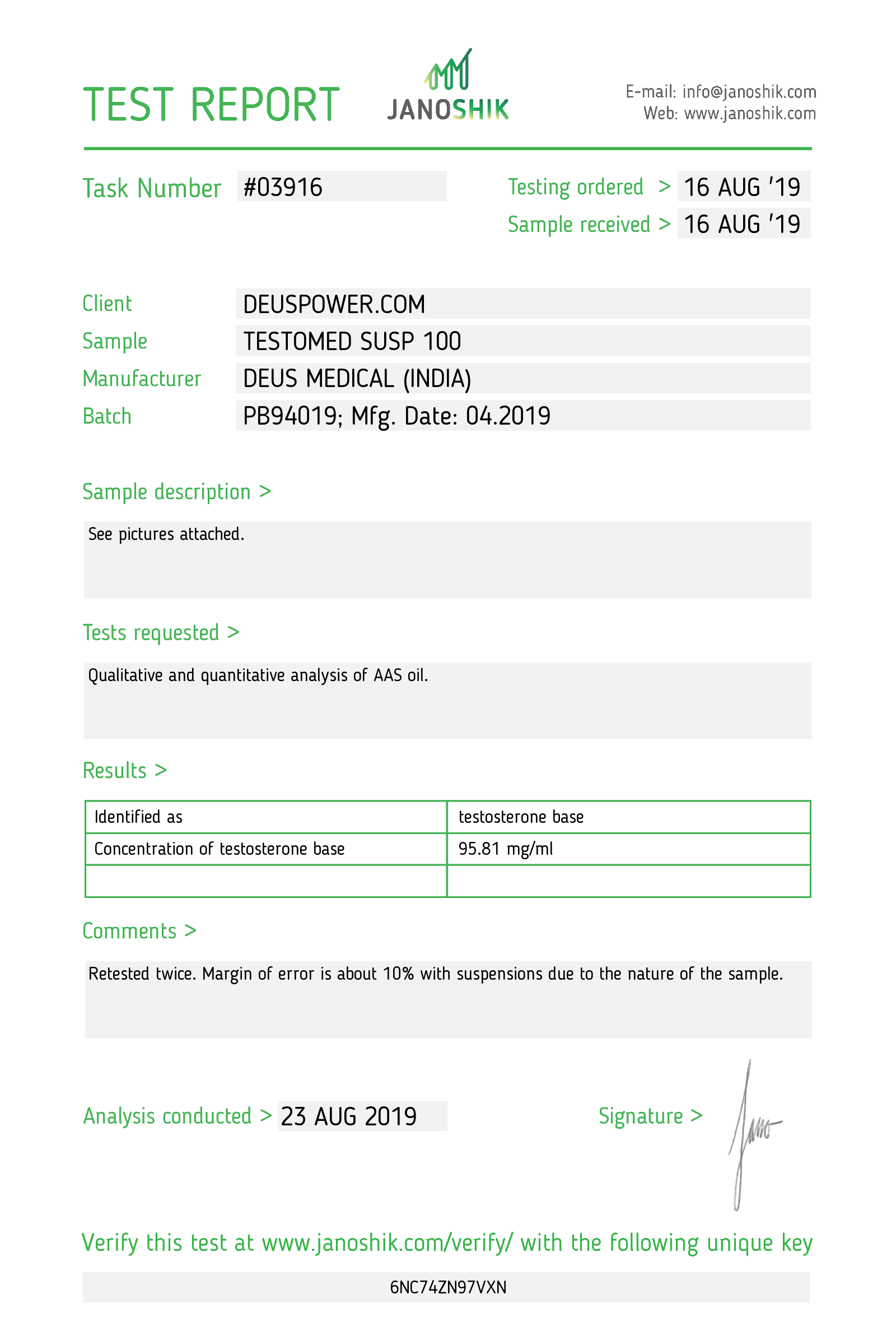 Laboratory Test for Deus Medical TESTOMED SUSP 100_Test Report.png