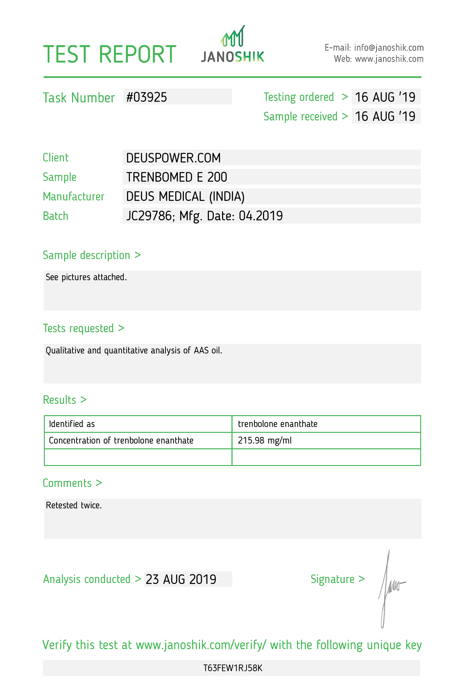 Laboratory Test for Deus Medical TRENBOMED E 200_Test Report.png